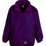 banner jacket 4 purple